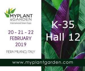 OrganiQ piedalīsies MY PLANT 2019 izstādē Milānā, Itālijā.