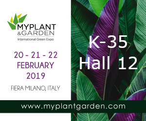 OrganiQ at MY PLANT 2019 exhibition in MILAN, ITALY